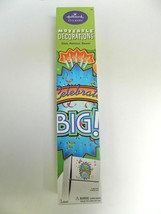 "Hallmark Moveable Decorations Wall Stickers 17 X 24 ""Celebrate Big"" - $7.83"