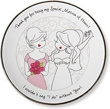 Pavilion Gift Company Philosophies Matron of Honor Gift Ceramic Jewelry ... - $16.44