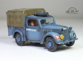 British RAF Light Utility Car 10HP 1:48 Pro Built Model - $74.23