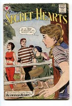Secret Hearts #65 comic book 1960 DC-love triangle-swimsuit fashion centerfold - $31.53
