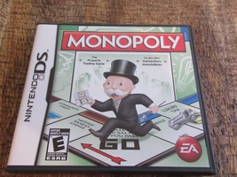 Monopoly (Nintendo DS, 2010) Video Game Complete Working - €16,12 EUR