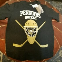 NHL Pittsburgh Penguins Boys 10 12 Hockey Fan Shirt - $17.75