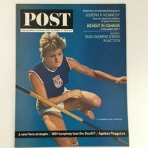 The Saturday Evening Post October 10 1964 Pat Wilson Olympics Cover, New... - £20.61 GBP