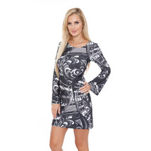 Juliana Dress - Black/Gray - €27,32 EUR