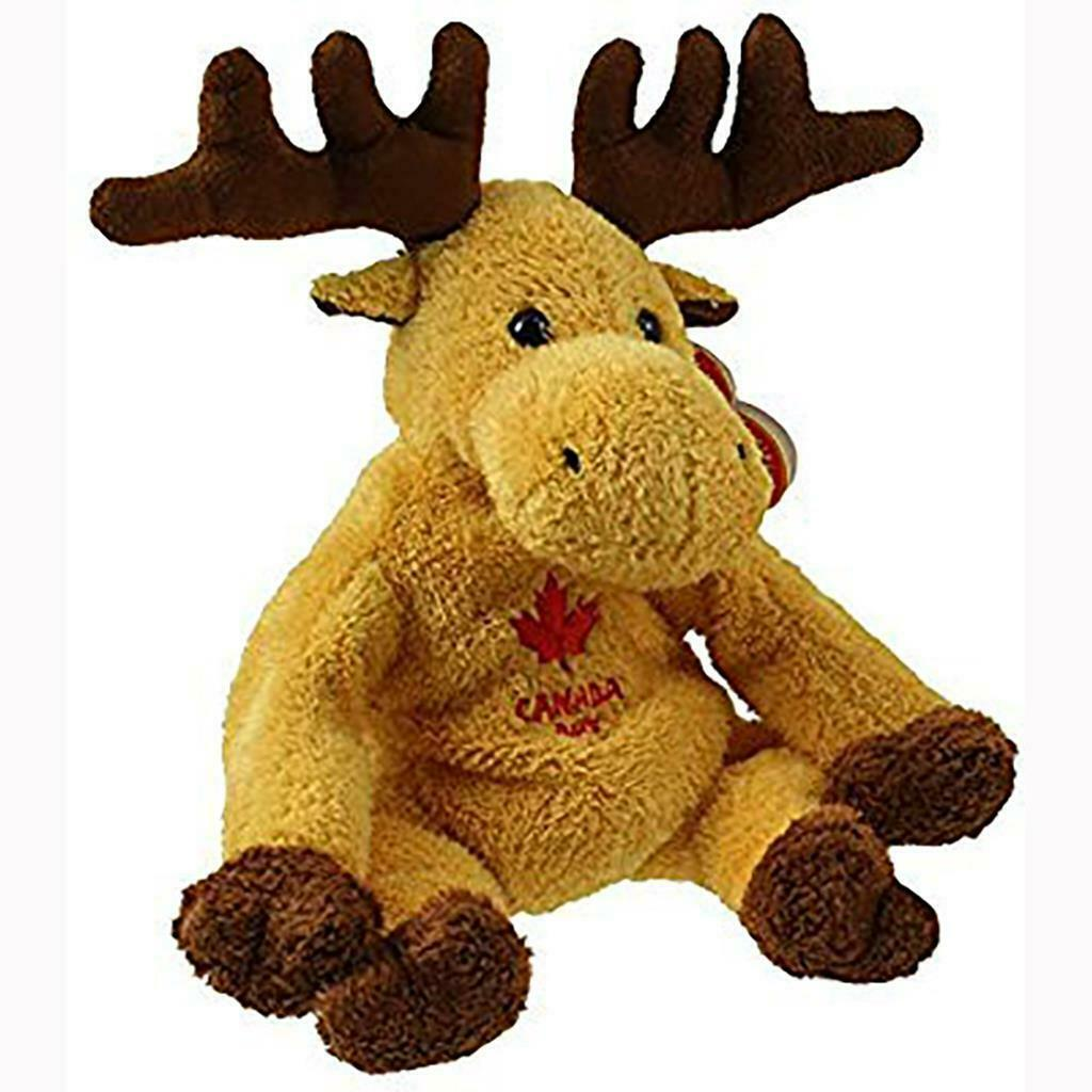 Primary image for Dominion Canada Day Moose Ty Beanie Babies Retired MWMT Ty Store Exclusive