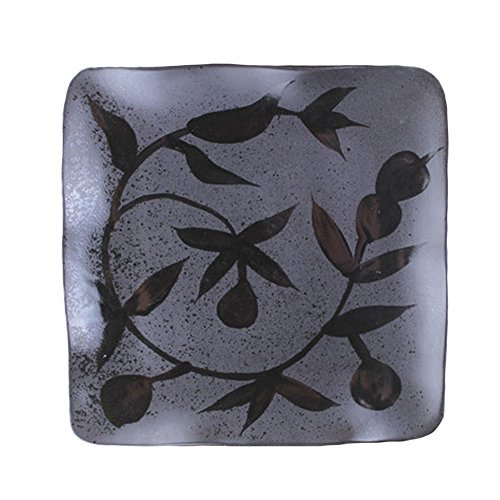 "Primary image for Creative Hand-Painted Ceramic Square 8.5"" Plate G"