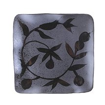 "Creative Hand-Painted Ceramic Square 8.5"" Plate G - $24.76"