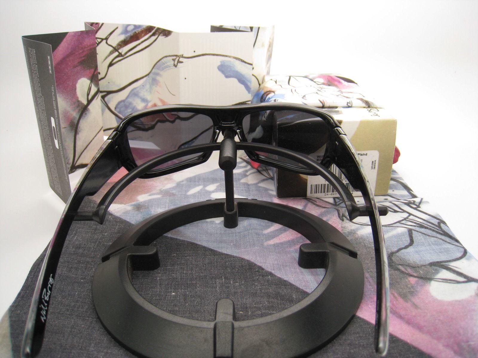 Selten! Neu Oakley Will Barras Montefrio Poliert Schwarz mit / Grau 24-049