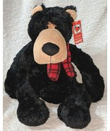 GANZ HX11403 Polyester Fiber 17 Inch Winter Jett The Black Bear - $17.00