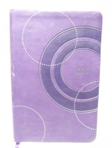 Holy Bible Thomas Nelson Publishers 1987  Red Letter Silver Edge Purple  - $17.62