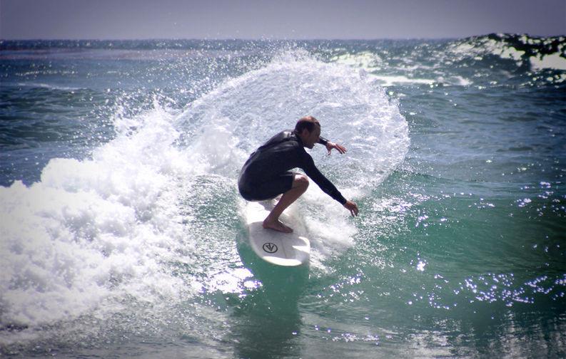"""Paragon Hobgoblin 5'8"""" Green-Yellow Surfboard"""