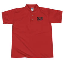 San Francisco t-shirt / 49ers t-shirt / Embroidered Polo Shirt image 1