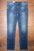 Hugo Boss Men's Orange 63 Slim Fit Stretch Cotton Med Blue Denim Jeans W... - $76.22