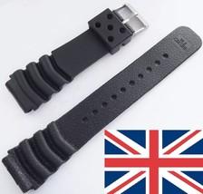 Seiko Watch Strap size 22mm Z22 Rubber Strap for Seiko watch - $4.86