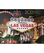 2021 13 Month Las Vegas Wall Calendar MGM Caesars  - $4.99