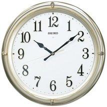 SEIKO CLOCK ( Seiko clock ) wall clock analog radio clock automatic full lightin - $287.88