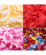 ISHOWTIENDA 1000pcs Artificial Silk Wedding decor flower - $11.95