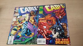 CABLE  SEPT  & OCT  MARVEL  COMICS BOOK FREE SHIPPING VG C24 - $7.88