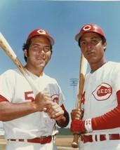 JOHNNY BENCH & TONY PEREZ 8X10 PHOTO CINCINNATI REDS BASEBALL PICTURE MLB - $3.95
