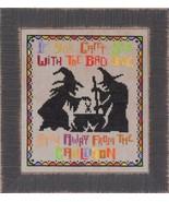 Bad Girls halloween cross stitch chart Glendon Place   - $10.80