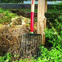 Outdoor Gardening Tools 10 Square Tine Ballast Fork Forged Steal Head in... - $84.80
