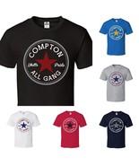 CUSTOM Converse Compton All Star Short Sleeve T-Shirt Tee S~XL Big Size ... - $15.79+
