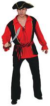 PIRATE MAN CAPTAIN ADULT FANCY DRESS COSTUME HALLOWEEN #US - $31.99