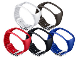 Samsung SM-R750 Galaxy Gear S Basic Color Strap ET-SR750 Black Genuine New image 2