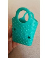 Shopkins Empty Shopping Bag/Basket • GREEN • Pre-owned • Nice Condition ... - $2.89
