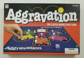 Aggravation The Classic Marble Race Game 1999 Hasbro - $21.49