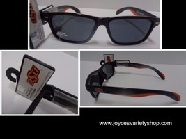 OSU Oklahoma University College Licensed Polarized Sunglasses NWT Orange... - $9.99