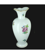 "Vintage Herend Old Hungary Vase Queen Victoria Pattern 7.5"" H -Scalloped... - $125.99"