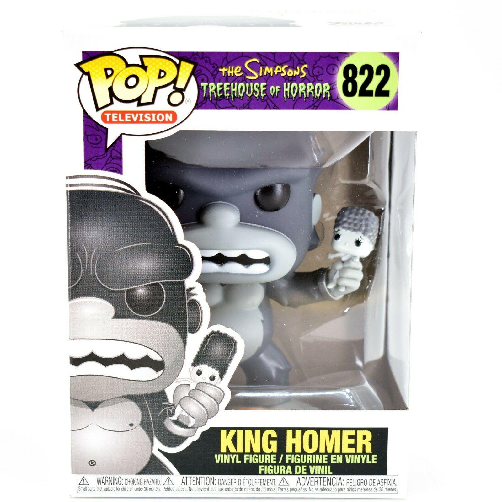Funko Pop! The Simpsons Treehouse of Horror King Homer #822 Vinyl Figure