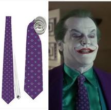 necktie inspired by the joker jack nicholson costume  tie - $24.00
