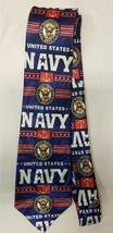 US Navy Seal United States Sailor Neck Tie Blue Anchor Military Patrioti... - $6.99