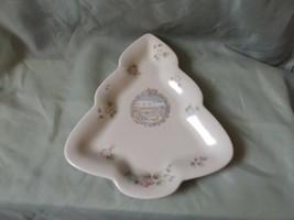 Pfaltzgraff Tea Rose Tree-Shaped Plate - Winter General Store - $7.50