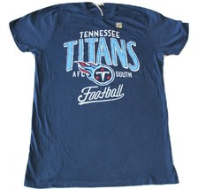 Junk Food Brand Tennessee Titans Kickoff Crew T-Shirt Relaxed Fit NWOT - $19.95