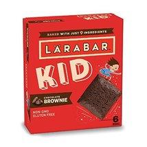 Larabar Kid, Chocolate Mint Brownie Bars, 0.96 oz. Bars (6 Count), Glute... - $9.99