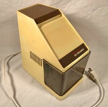 VINTAGE RIVAL MFG MODEL 840/1 ELECTRIC ICE CRUSHER HARVEST GOLD - $25.73
