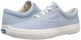 Keds WF58144 Women's Anchor Chambray Lite Blue Sneakers, Size 8.5 - $59.39