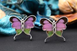 Navia Jewelry Butterfly Wings Graphium weiskei Cufflinks HNCU-2W - $49.99