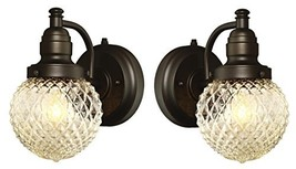 One-Light Outdoor Wall Fixture with Dusk to Dawn Sensor with with Clear ... - $79.28