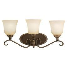 Sea Gull Lighting 44381-829 Parkview Bathroom Light, Russet Bronze - $65.84