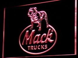 Neon Light  LED Signs Mack Truck Trucking  18 wheeler Trucks Automotive  - $29.99