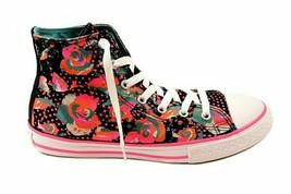 Converse Junior CT All Star HI Sneakers Aegean Aqua Black Size EU 34 - $56.36