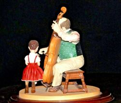 """1992 Days to Remember - Norman Rockwell """"The Fiddler"""" Figurine AA19-1611 Vinta image 4"""
