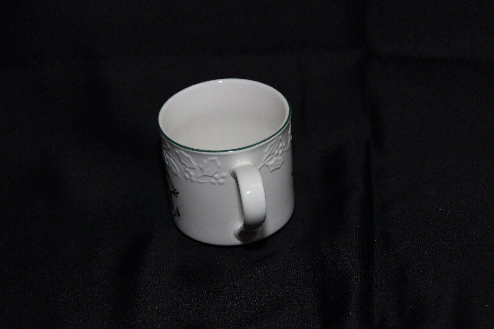 GEI Snowman Xmas 4 Cups 2 Saucers image 6
