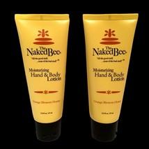 The Naked Bee Orange Blossom Honey Hand & Body Lotion 2.25 oz 2 pack Nat... - $10.84