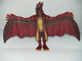 """2006 Bandai Rodan 6"""" Godzilla Figure Final Wars Red Wings Yellow Belly Monster - $17.81"""