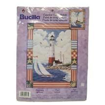 Bucilla Counted Cross Stitch Americana Lighthouse. Nancy Rossi 42975 NOS - $19.34
